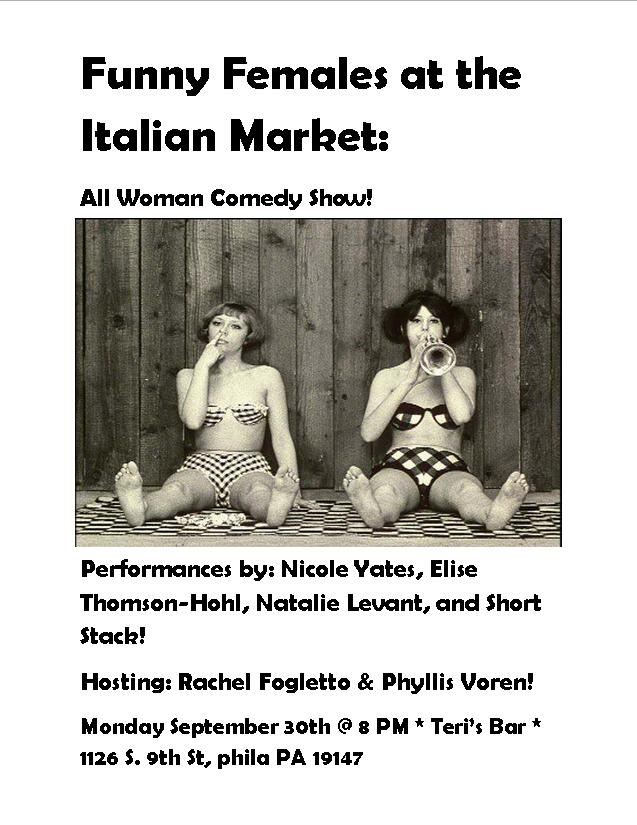 Funny Females - All Woman Comedy Show!